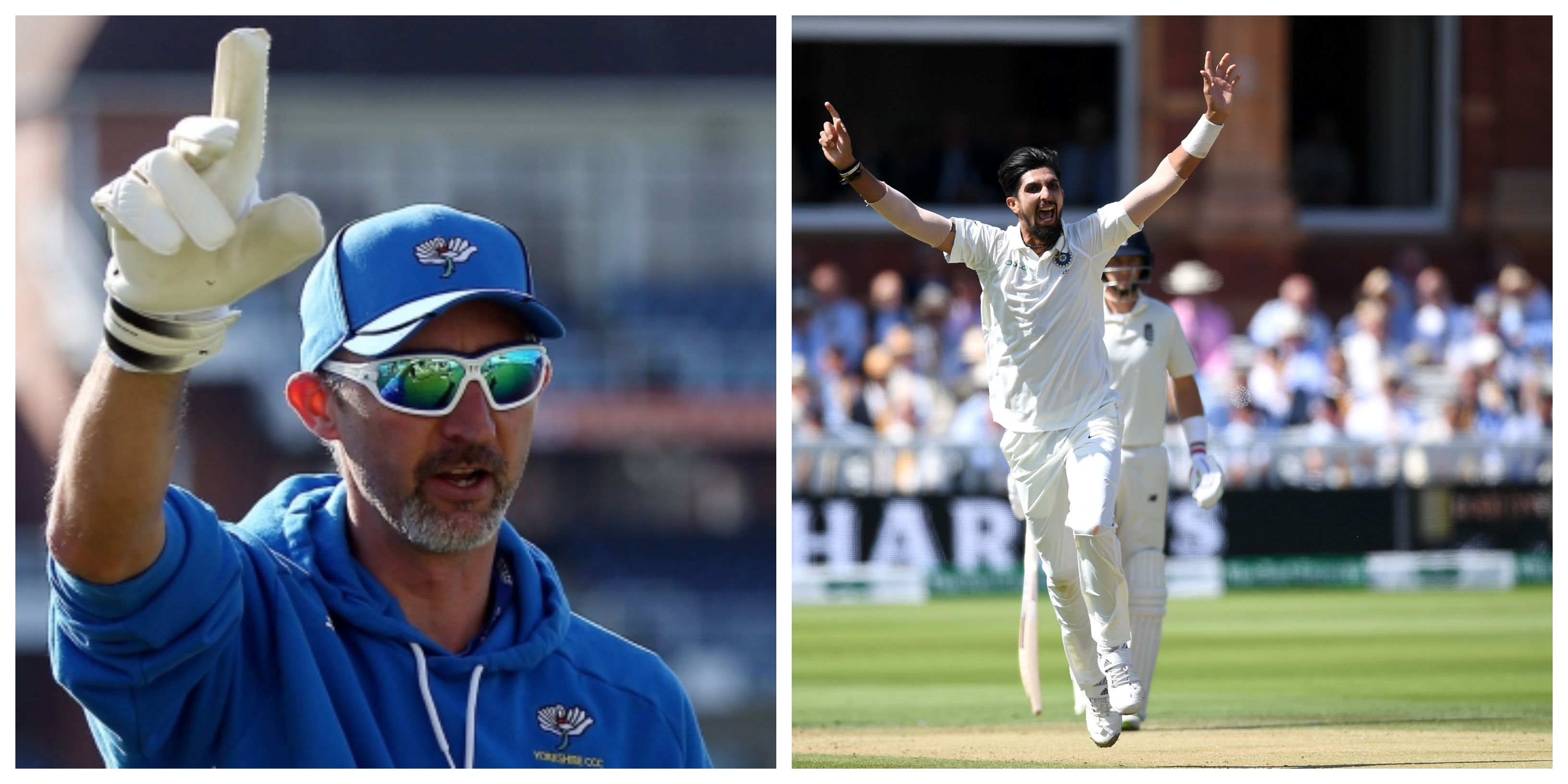 Ishant played for Sussex under the guidance of Jason Gillespie. (Getty)