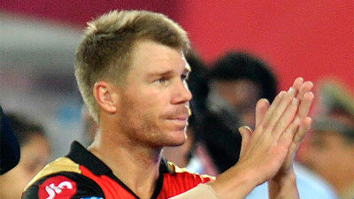 IPL 2018: David Warner wishes luck to SRH as they take on CSK in Qualifier 1