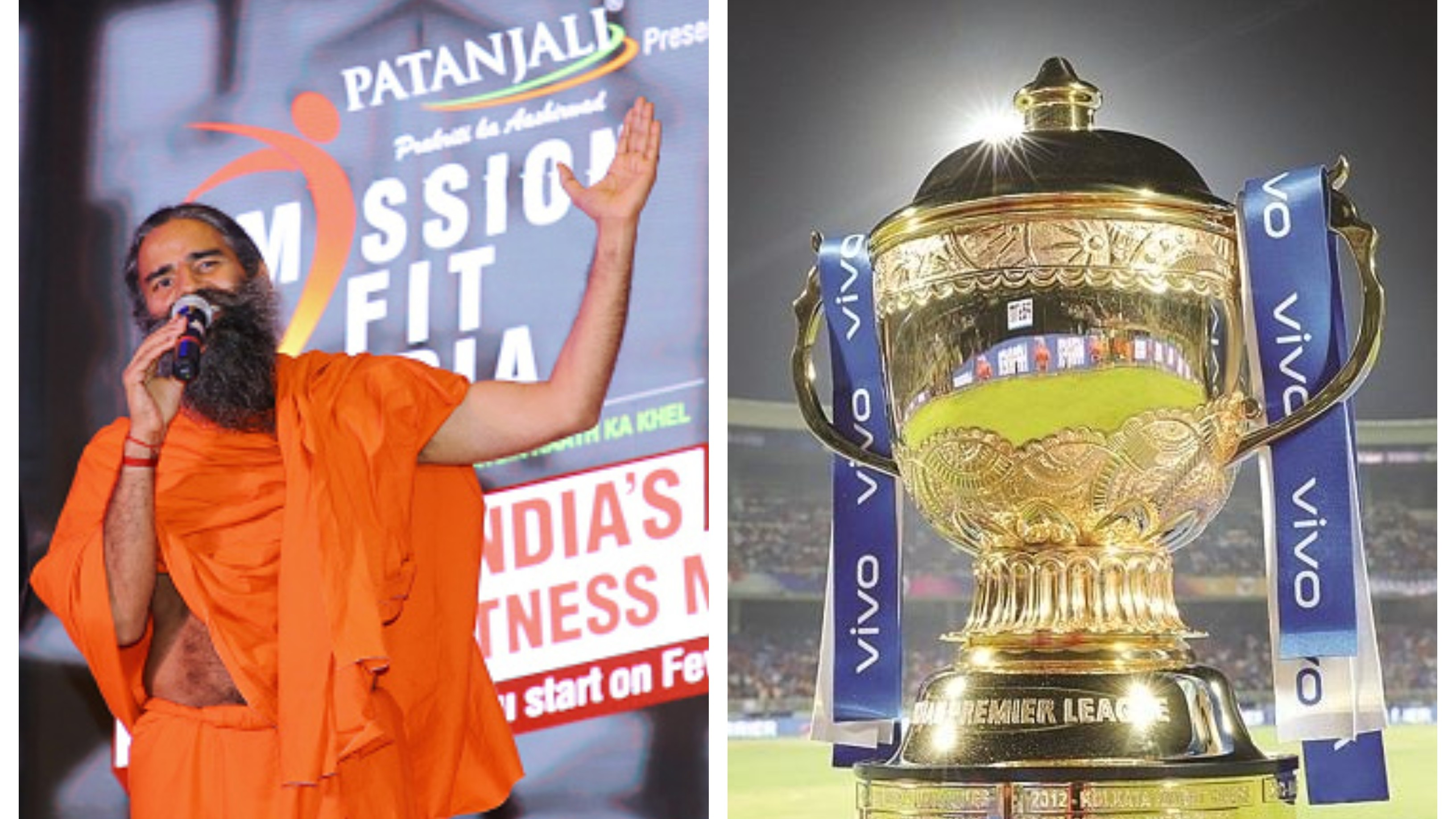 IPL 2020: Baba Ramdev's Patanjali contemplates bidding for IPL title sponsorship