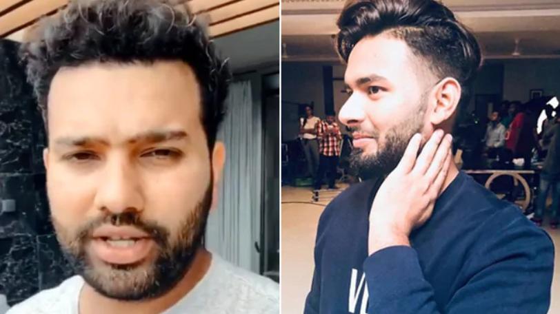 Video : 'एक साल हुआ नही उसको क्रिकेट खेलते हुए' रोहित ने लाइव चैट पर किया ऋषभ पंत को ट्रोल