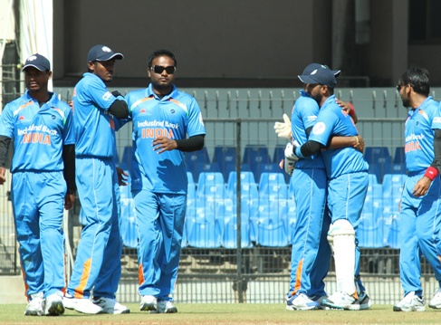 File image of Indian blind cricket team | Getty