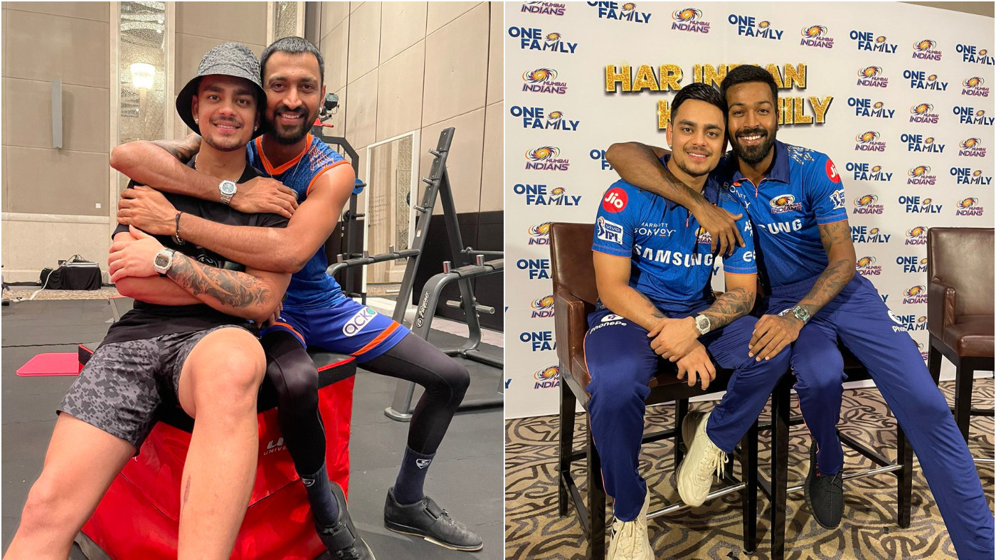 Pandya brothers congratulate Ishan Kishan for his selection in India squad for T20 World Cup 2021
