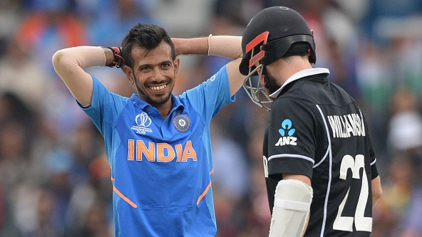 CWC 2019: KXIP's hilarious reaction after Yuzvendra Chahal picked Kane Williamson's wicket