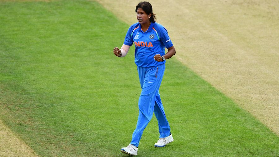 Jhulan Goswami honoured for her latest exploit in One Day cricket