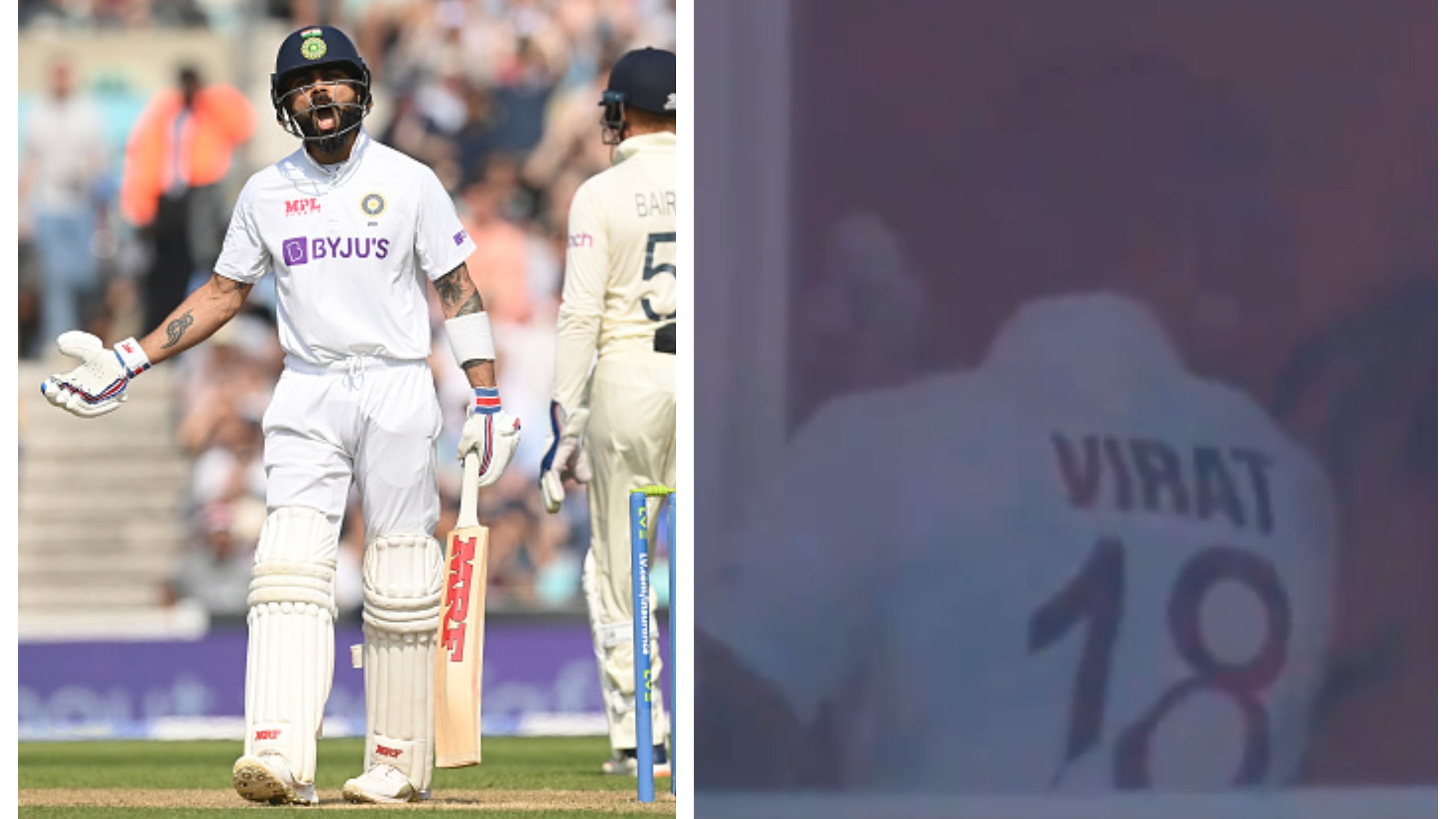 ENG v IND 2021: WATCH – Distraught Virat Kohli smashes his hand against the wall after his dismissal