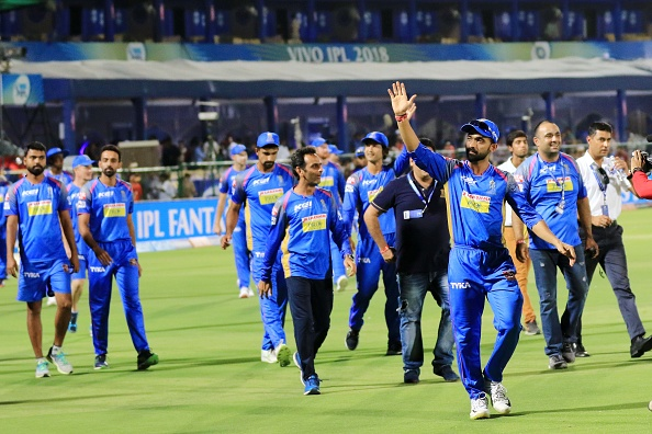 Rajasthan Royals reached the playoffs last year under the captaincy of Ajinkya Rahane   Getty
