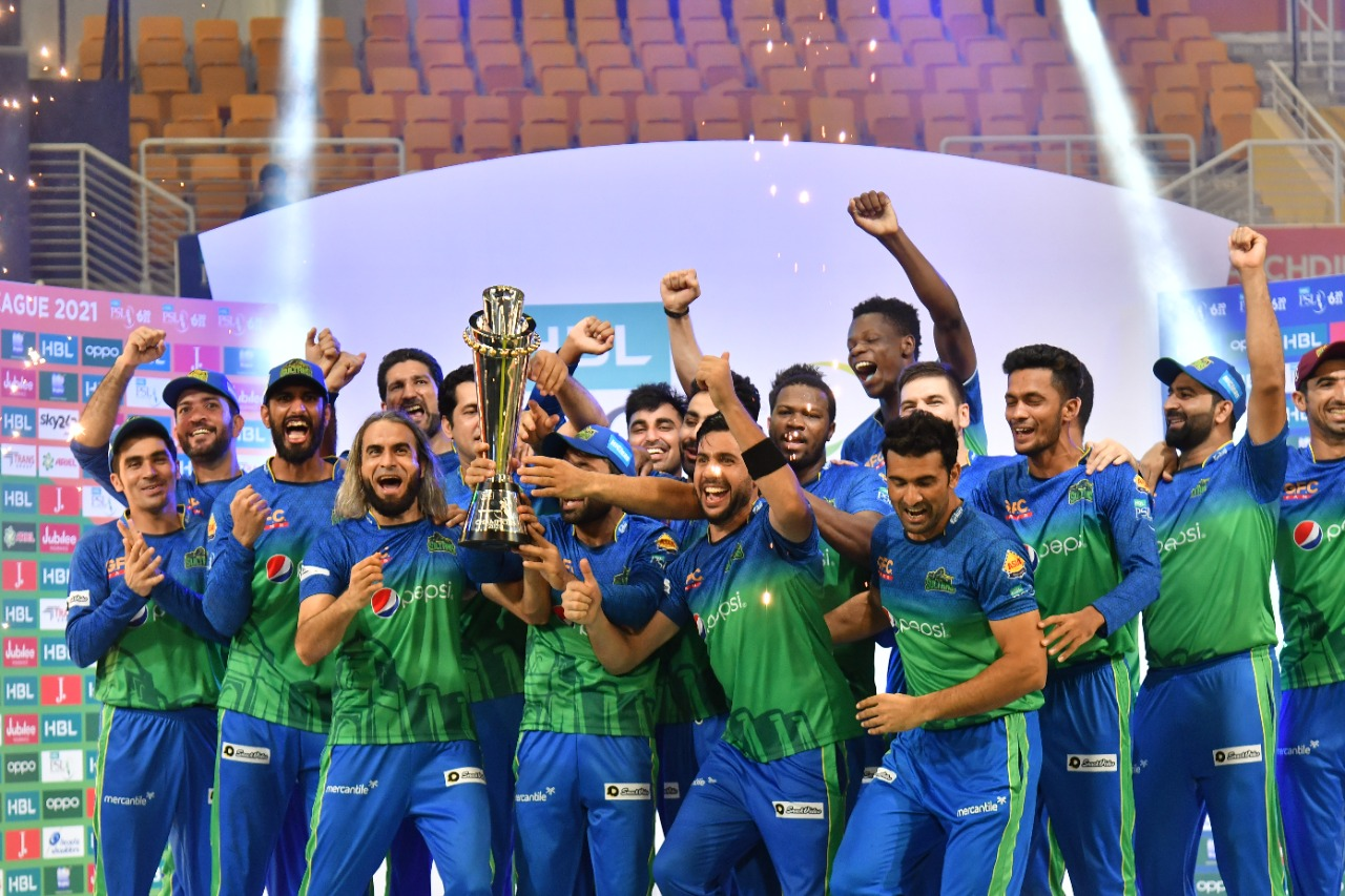 Multan Sultan are the current PSL champions | PSL