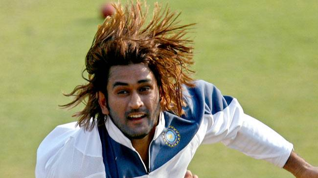 MS Dhoni admits he misses his long hair style