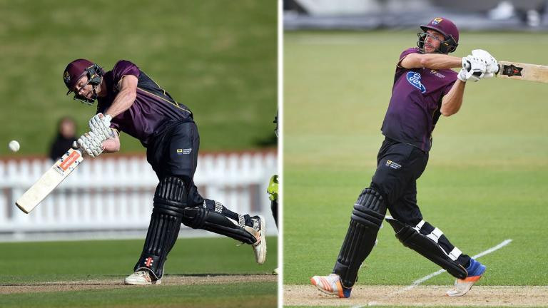 WATCH: New Zealand batting duo smash 43 runs in an over to create new List A world record