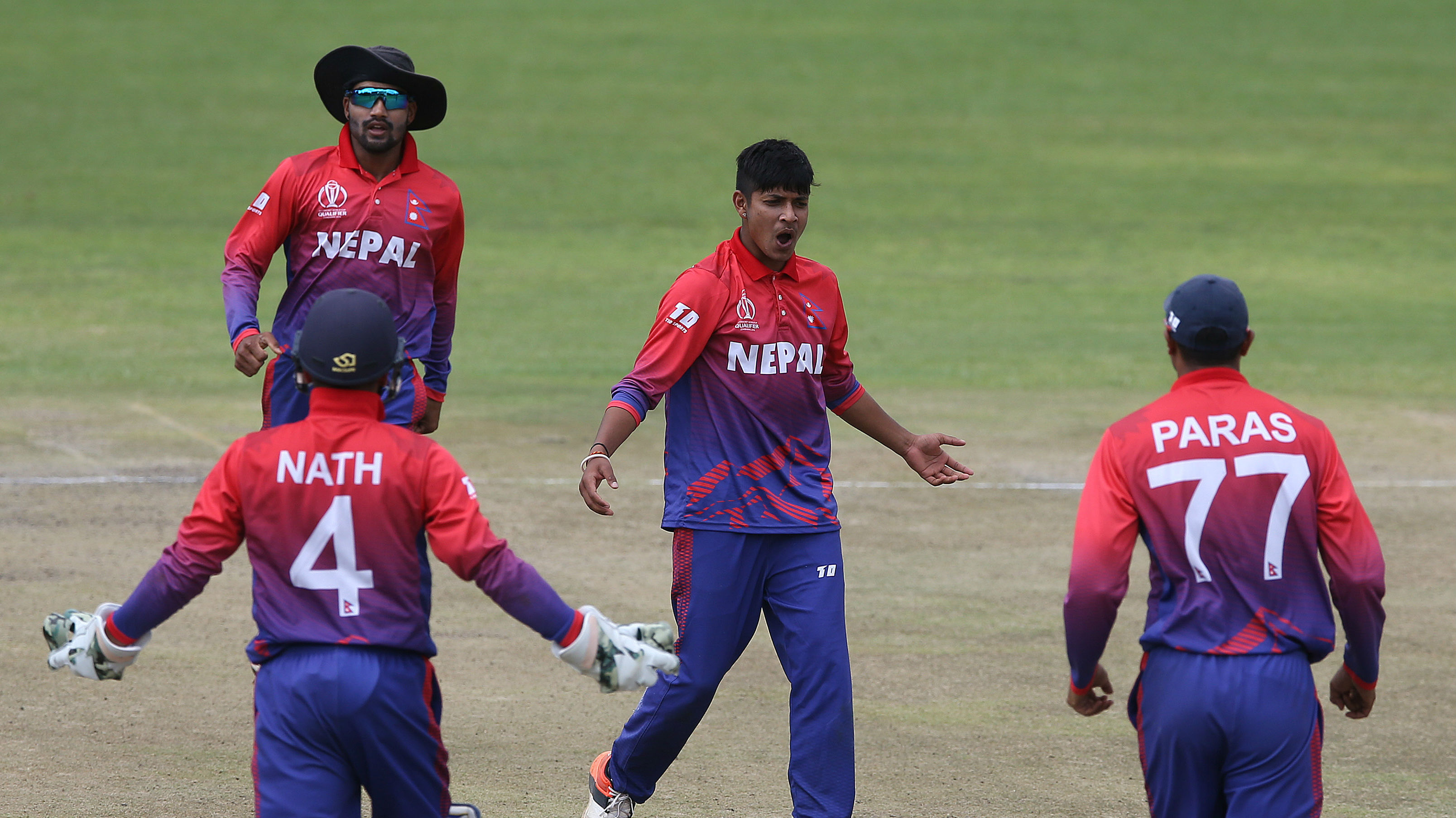 Leg-spinner Sandeep Lamichhane bowled well in the three-match ODI series | Getty