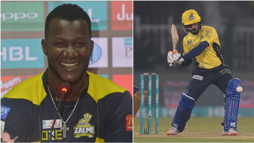 Darren Sammy thanks ex-Peshawar Zalmi cricketer Mohammad Hafeez for his contribution