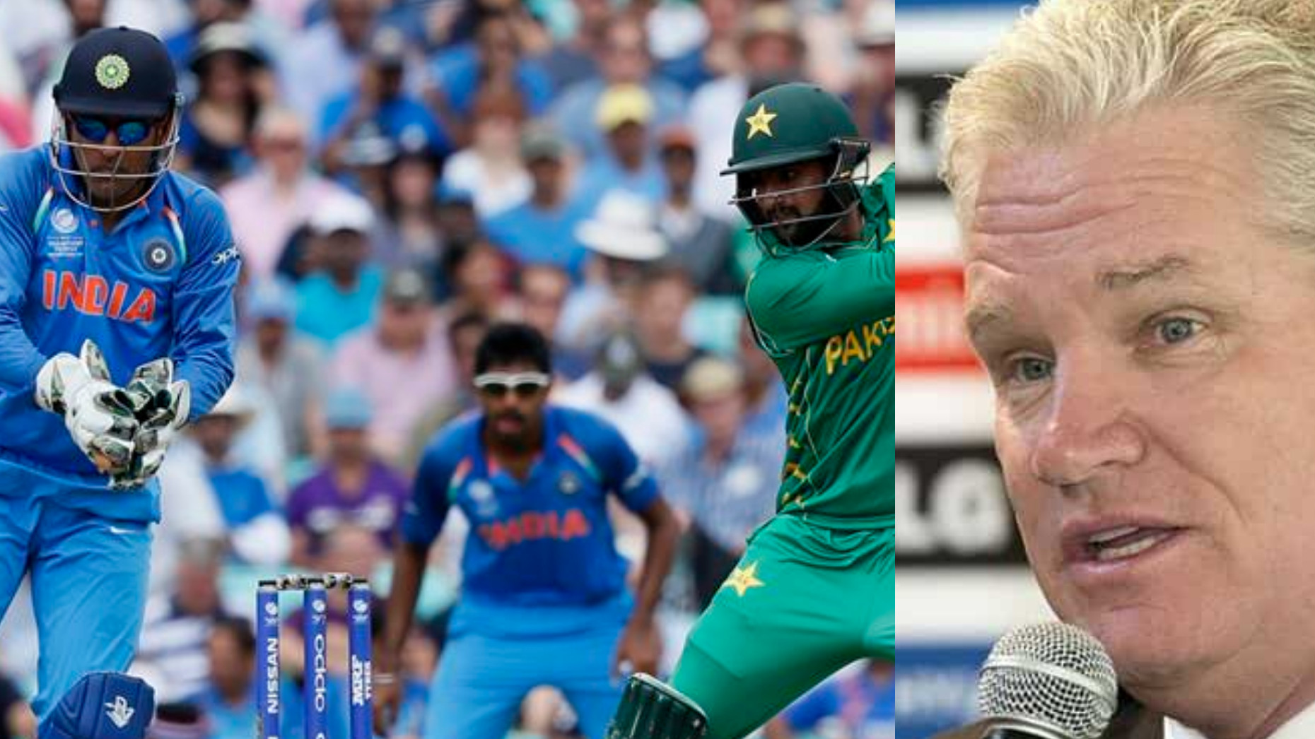 Dean Jones calls for a India v Pakistan series after Australia is thrashed by Pakistan