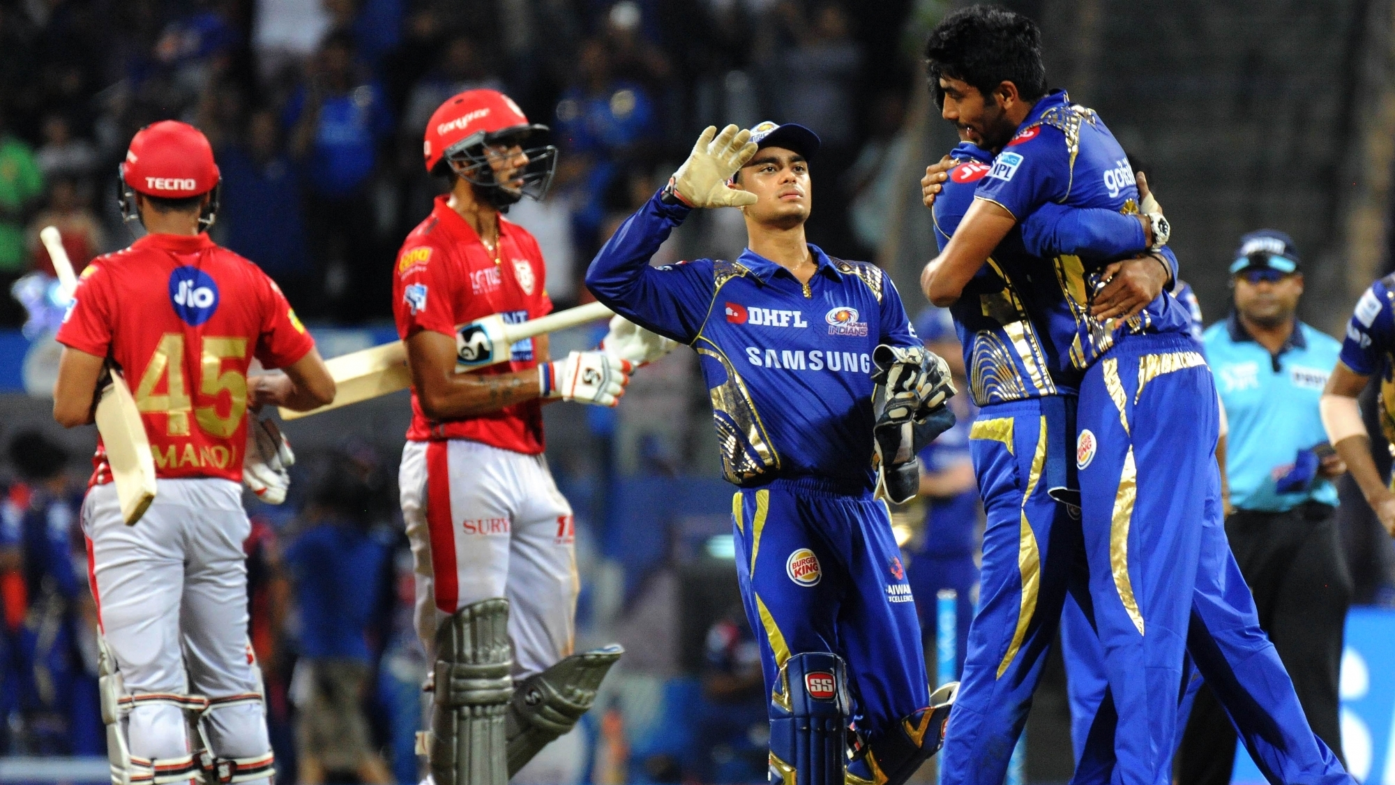 IPL 2018 : Match 50, MI vs KXIP - Statistical Highlights