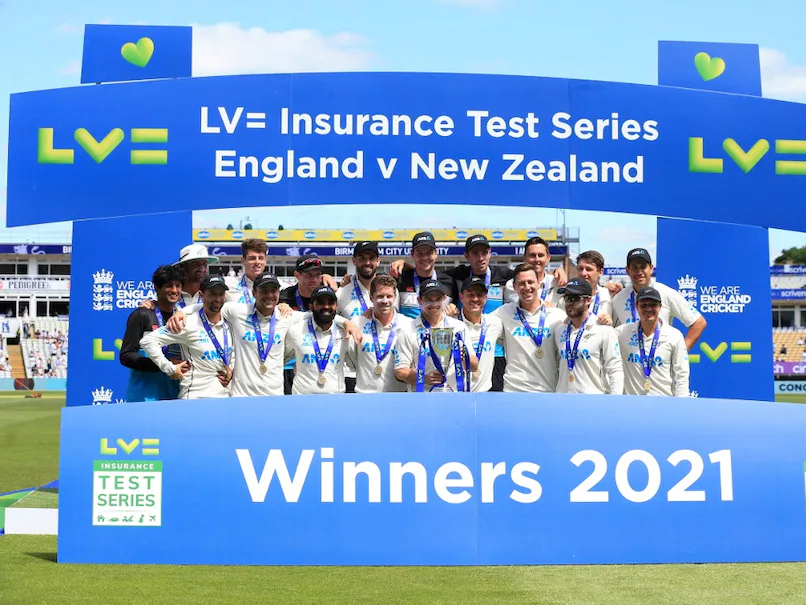 New Zealand defeated England 1-0 in 2-Test series recently | AFP
