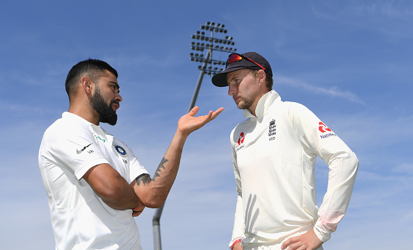 The captains, Virat Kohli and Joe Root | Getty Images