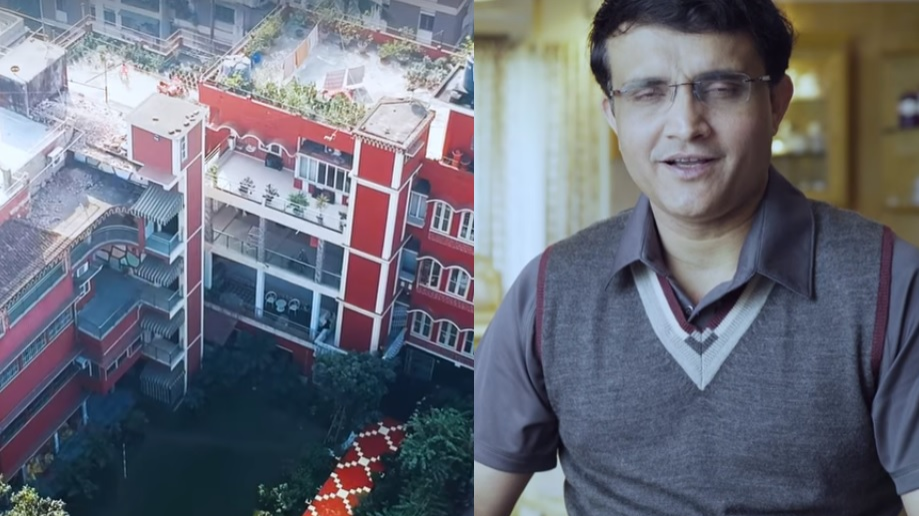 Watch: Sourav Ganguly gives a tour of his house