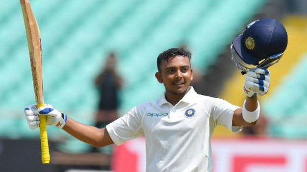 Stats : List of records made by Prithvi Shaw on his Test debut