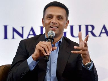 Rahul Dravid urges India U-19 players not to think about the IPL auction