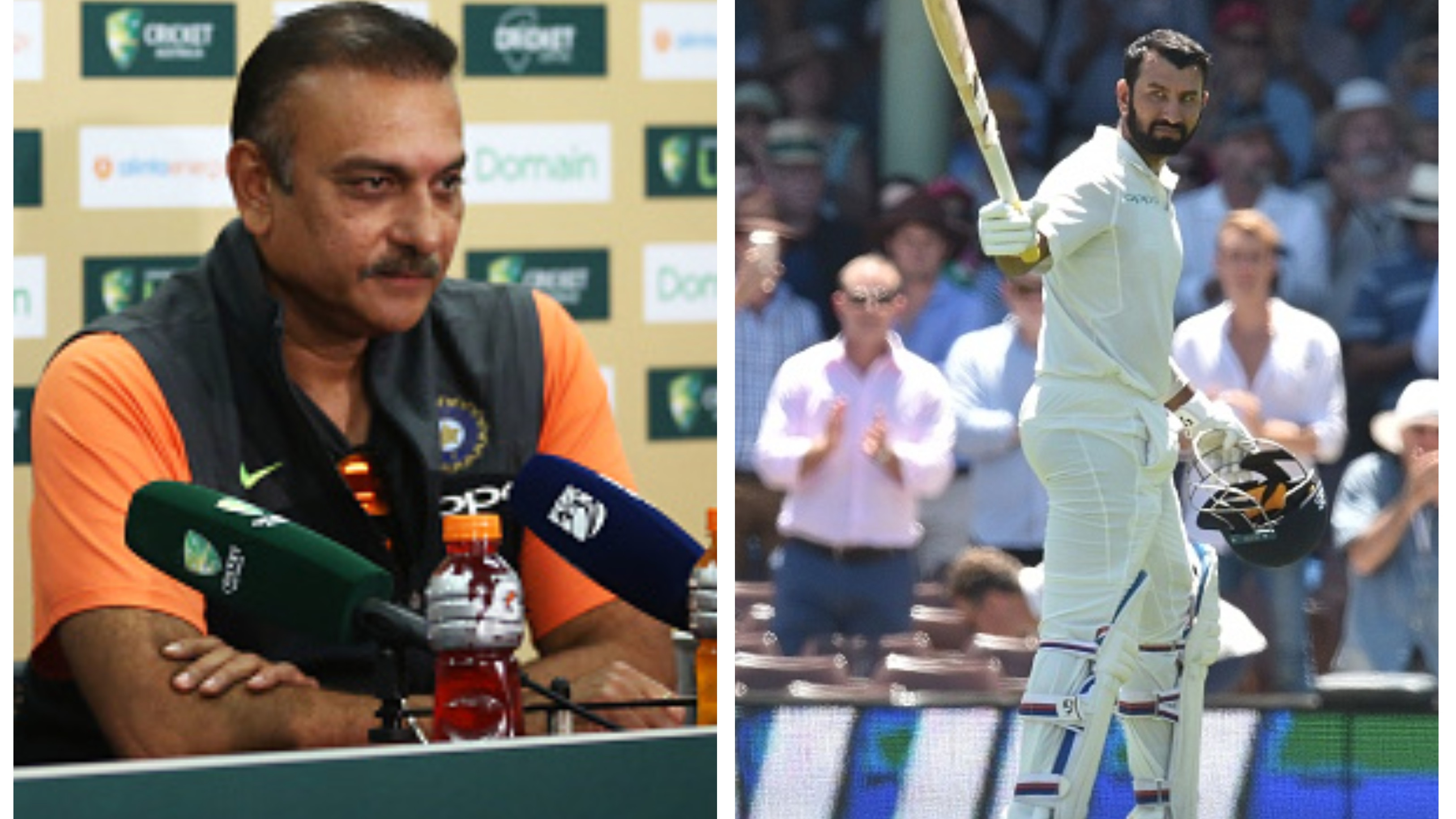 AUS v IND 2018-19: Shastri hails Pujara for his stellar batting effort down under