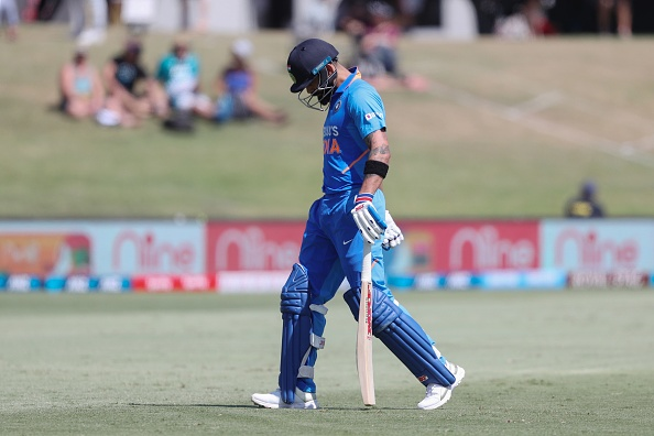 Virat Kohli had a disappointing ODI series against New Zealand | Getty