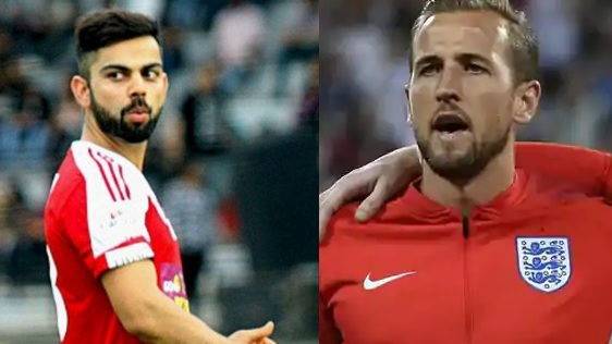 Harry Kane thanks Virat Kohli for his wish for FIFA 2018 match