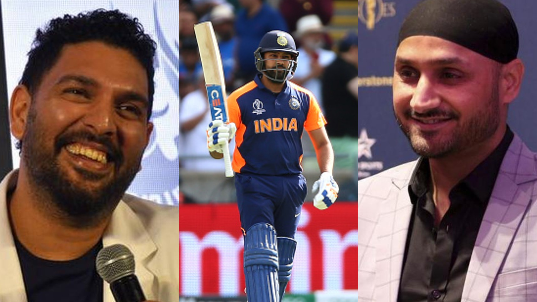 CWC 2019: Cricket fraternity cheers Rohit Sharma's third century in this World Cup