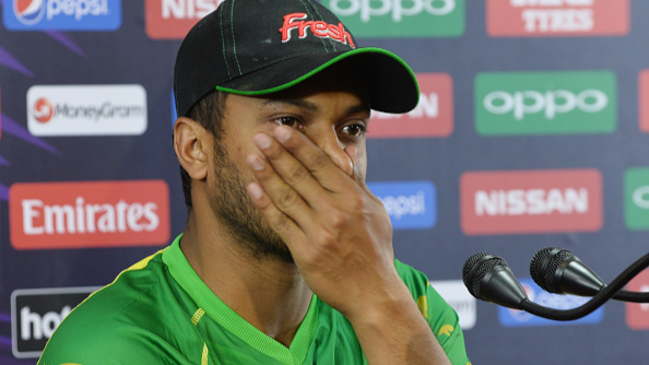 We were beaten in all three departments, says Shakib Al Hasan after the loss against Windies