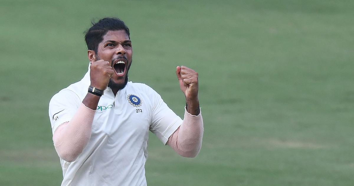 Umesh Yadav dented the Windies batting line-up across both the innings in Hyderabad | AFP