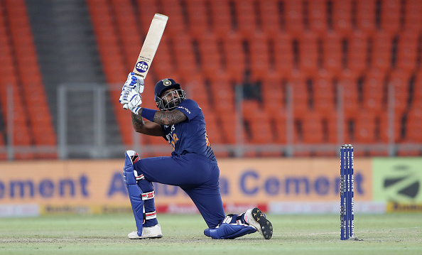 Suryakumar Yadav made his debut earlier in the T20I series | Getty