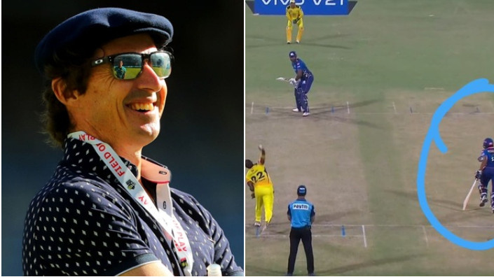 IPL 2021: Brad Hogg points out MI's unfair advantage on the last ball of their chase against CSK