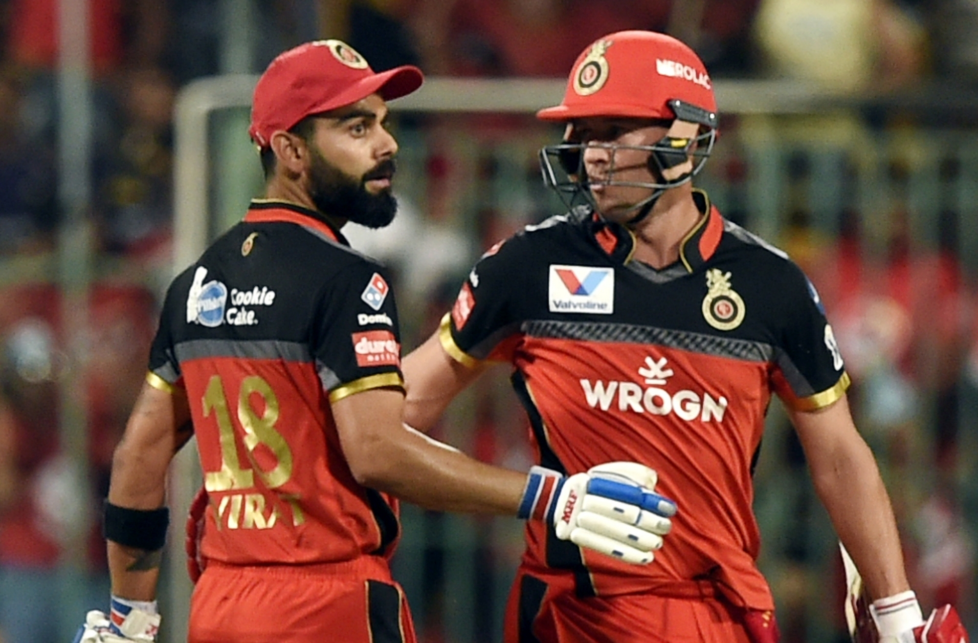 Virat Kohli and AB de Villiers | IANS
