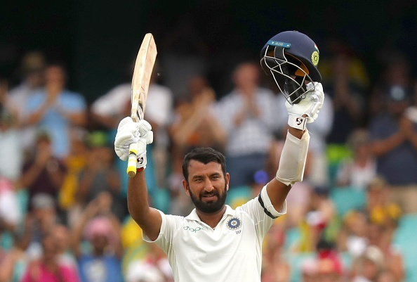 Pujara scored his third century of the series and 18th overall in Tests | Getty
