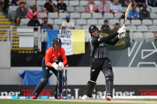 Martin Guptill scored 50 runs off 20 balls in the fifth T20I against England (photo - getty)