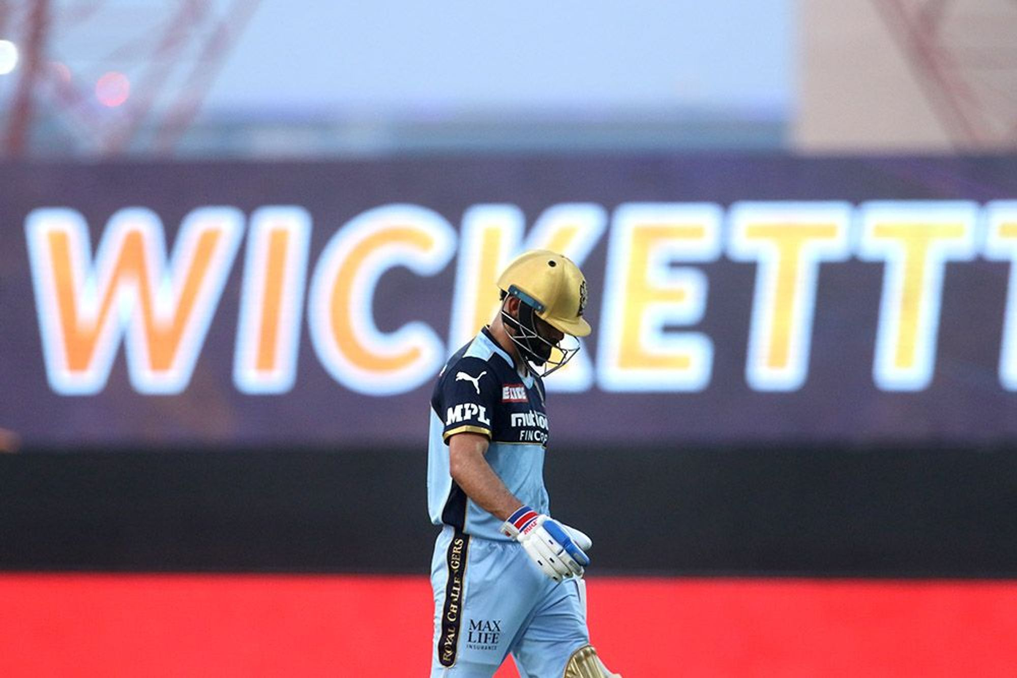 Virat Kohli scored 5 runs against KKR   BCCI/IPL