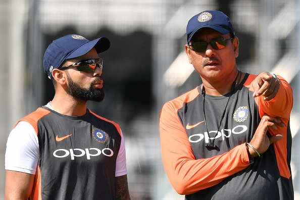 Ravi Shastri is accused of being a 'yes man' to Virat Kohli, rather than helping the team out | Getty