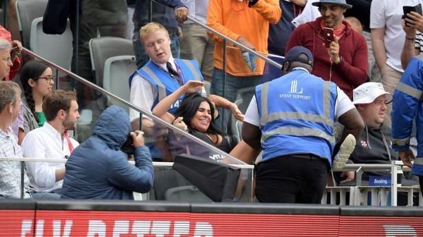 CWC 2019: Female Streaker tries to invade pitch during England-New Zealand final at Lord's ground
