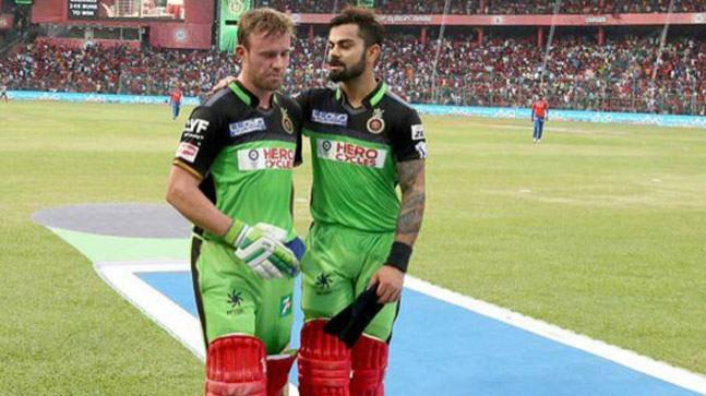 IPL 2018: I cant play the shots AB de Villiers can, says Virat Kohli