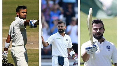 Top 5 Amazing Virat 'King' Kohli overseas Test centuries that prove he is a modern day great