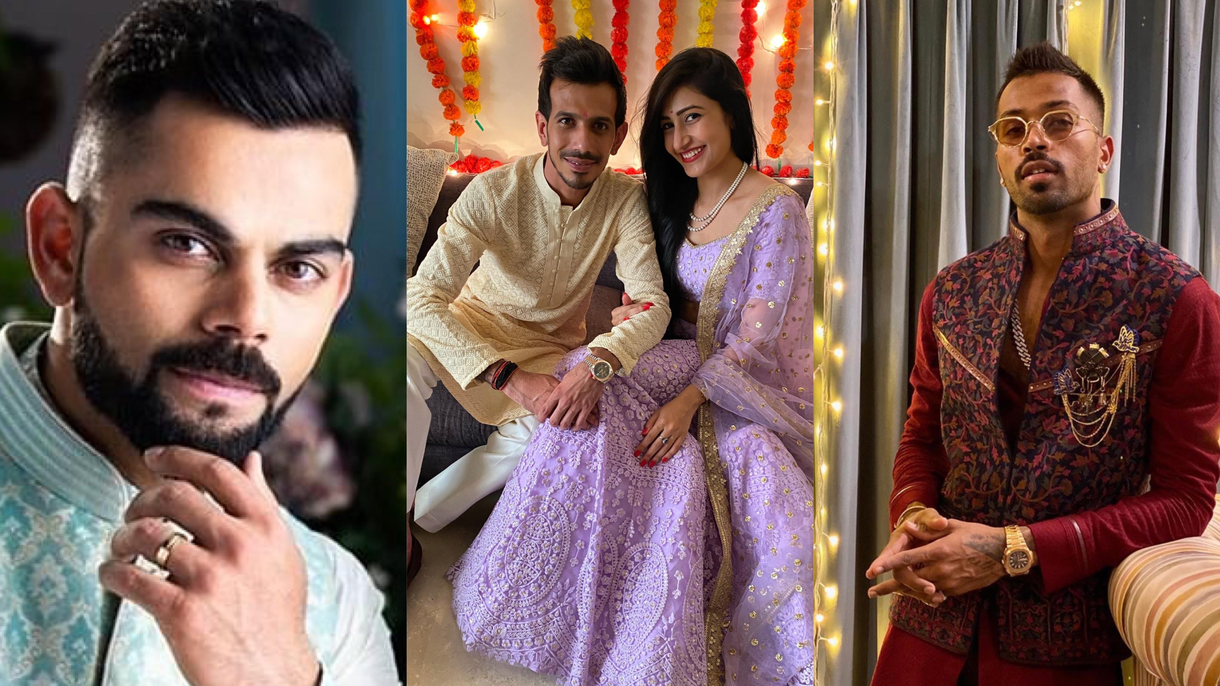Virat Kohli, Hardik Pandya lead the wishes as Yuzvendra Chahal gets engaged to Dhanashree Verma