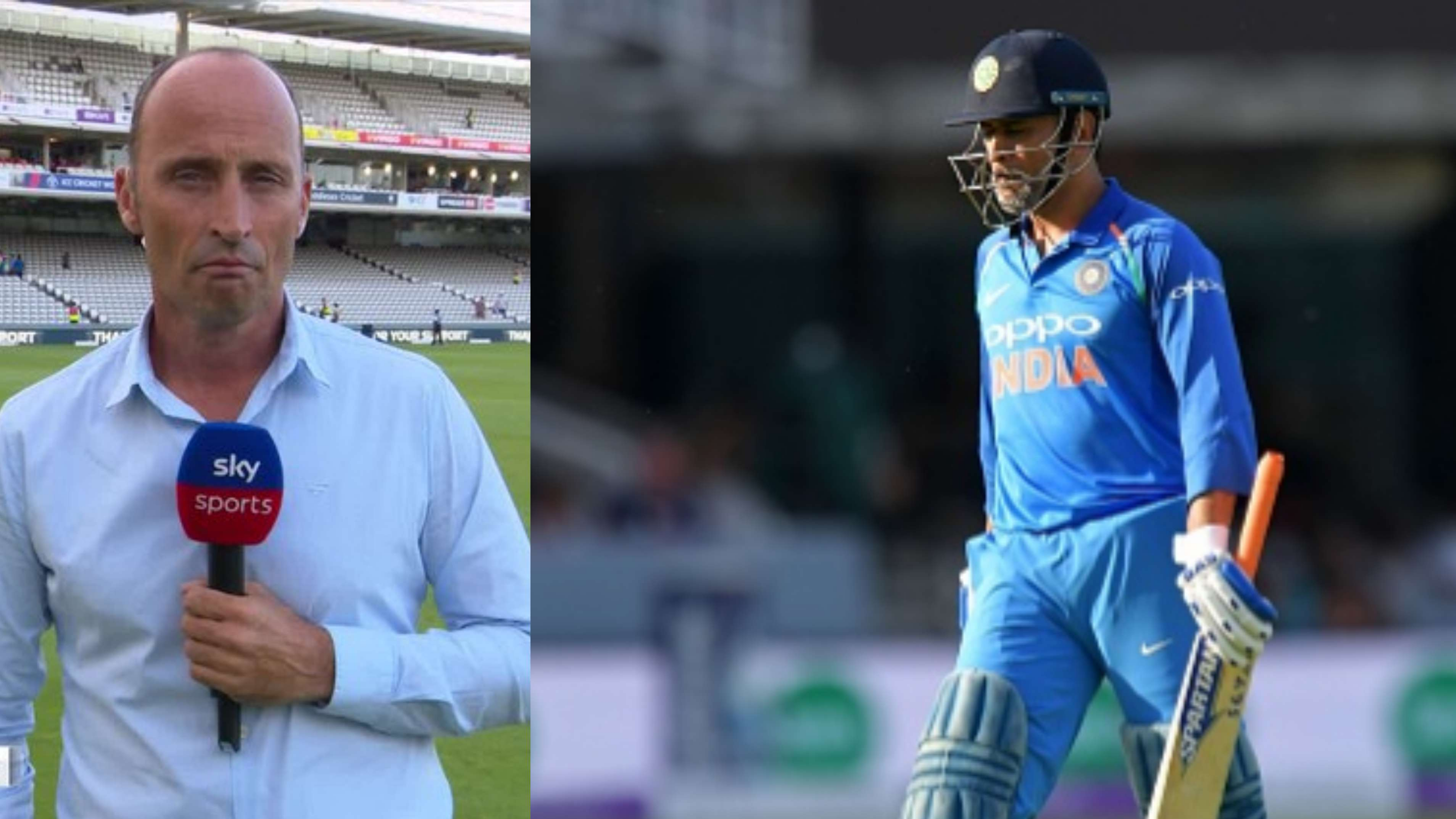 ENG vs IND 2018: Nasser Hussain calls MS Dhoni's innings in the second ODI a very odd one