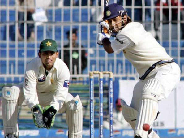 MS Dhoni scores a brilliant 148 against Pakistan in Faisalabad Test in 2005 | AFP