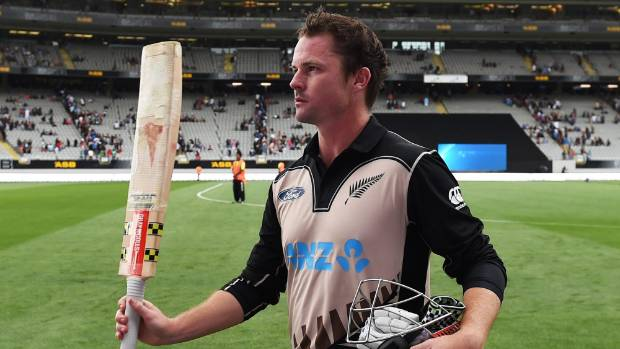 Colin Munro scored a world record third century in T20Is
