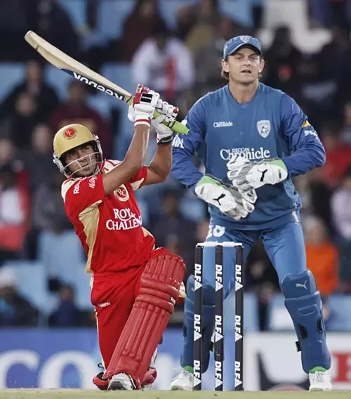 Manish Pandey slammed 114* against Chargers in IPL 2009