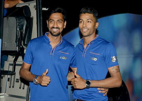 Hardik Pandya and Krunal Pandya | Getty