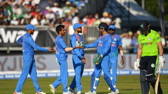 IRE vs IND 2018 : 1st T20I - Statistical Highlights