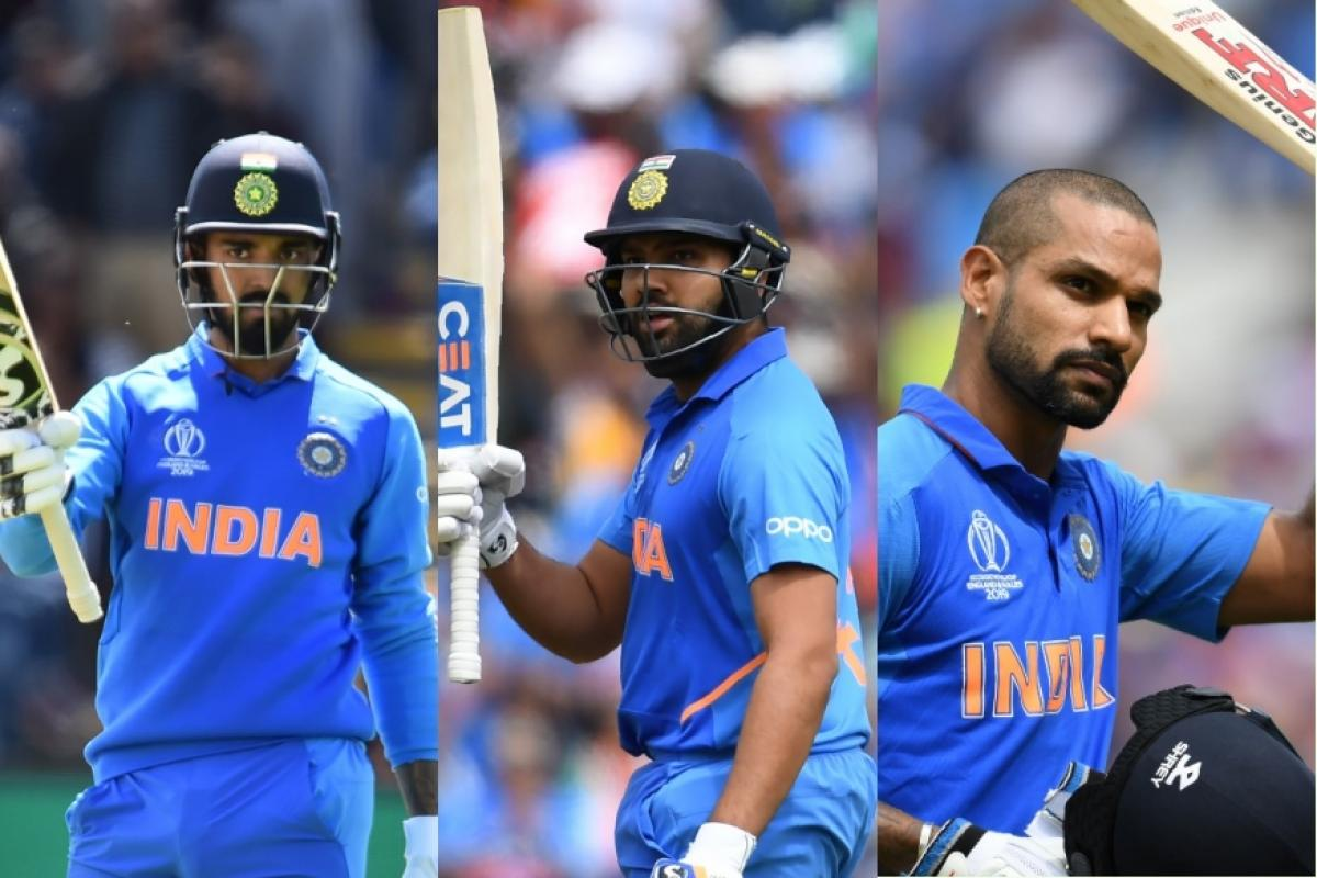 Rahul, Rohit and Dhawan are going to be in top order along with Virat Kohli | Getty