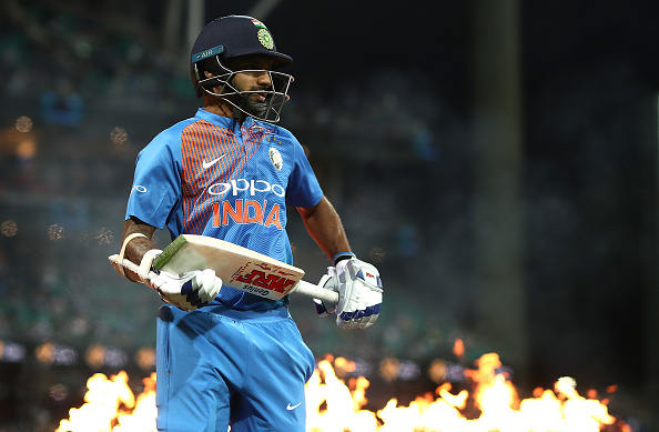 Shikhar Dhawan was on fire during his 41 | Getty