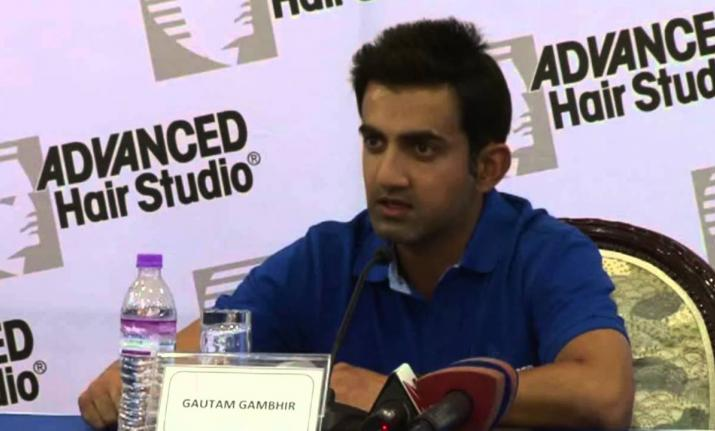 Gautam Gambhir | Pic Credit: India TV