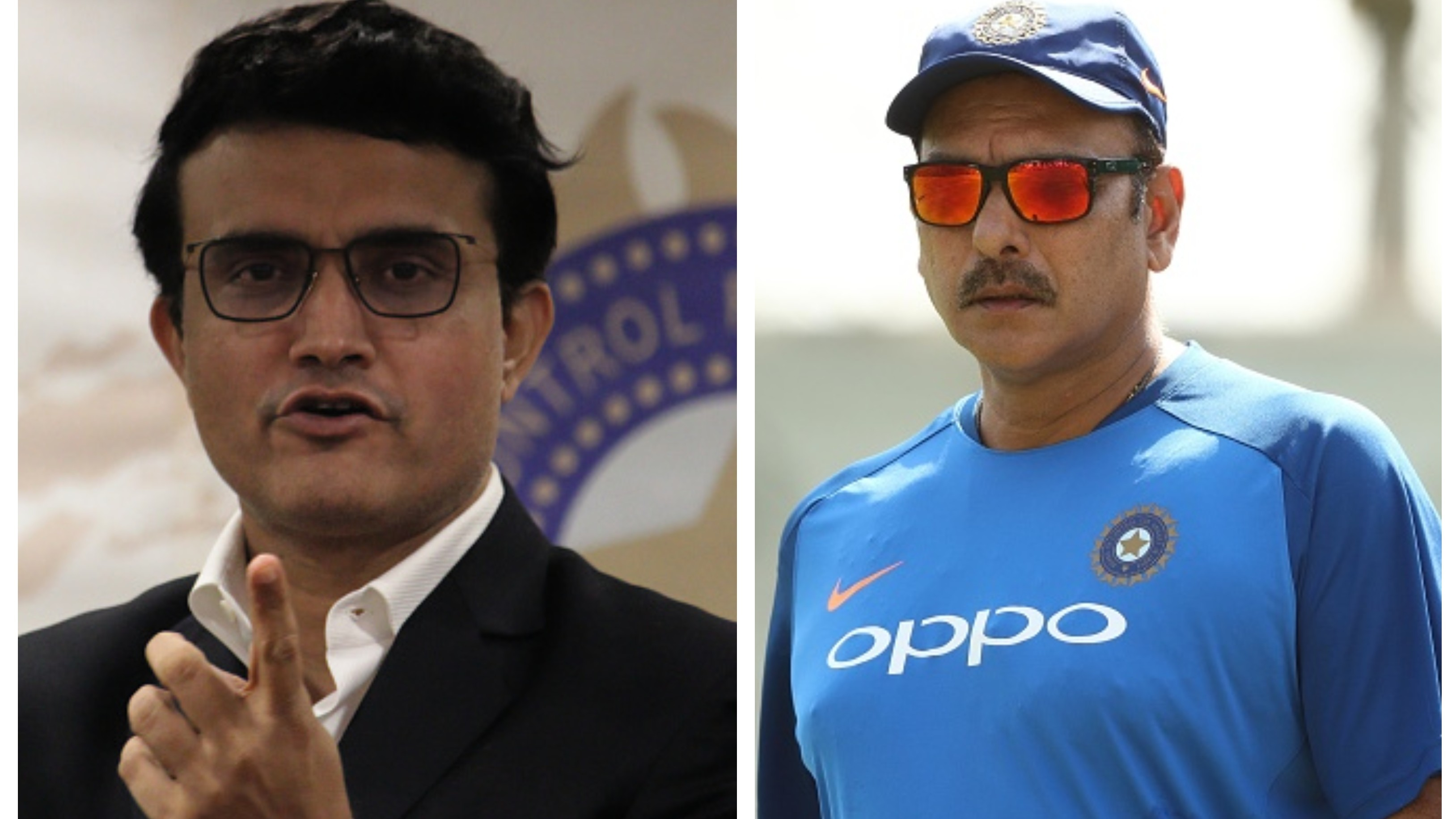 Sourav Ganguly opens up about rumours of his strained relationship with Ravi Shastri