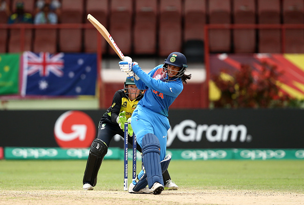 Smriti Mandhana was in full flow against the Southern Stars on Saturday | Getty